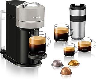 Nespresso Krups Vertuo Next Gris Clair, Machine Expresso, Machine à Café, 5 Tailles de Tasses, 1,1 L YY4298FD