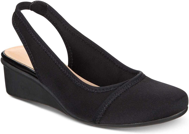 Charter Club Womens Noraa Almond Toe Casual Platform Sandals
