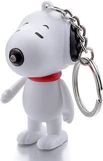 Snoopy LED Flashlight Light Up Keychain w/ Sound (Barks) US Seller