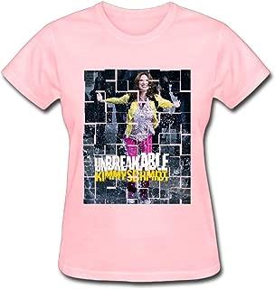 Refined Unbreakable Kimmy Schmidt 2016 Poster Women's Cotton Short Sleeve T-Shirt