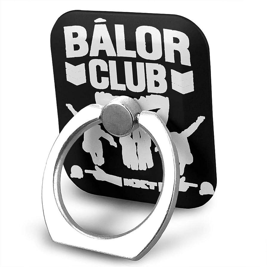 トリッキー歯車スーパーBALOR CLUB バロールクラブ 弾丸クラブ スマホ リング ホールドリング 指輪リング スクエアス 薄型 おしゃれ スタンド機能 落下防止 360度回転 タブレット/スマホ IPhone/Android各種他対応