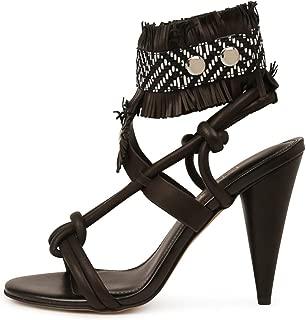 SIREN Emerald Camel Leather Womens Shoes High Heels Sandals