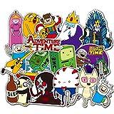 [29 Stück] schöne Cartoon-Aufkleber, Adventure Time-Aufkleber, Computer-Aufkleber für Wasserflaschen, Vinyl-Aufkleber für Laptop, Skateboard, Gepäck, Graffiti-Aufkleber, Aufkleber