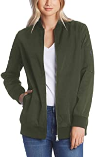 Best longline green bomber jacket Reviews