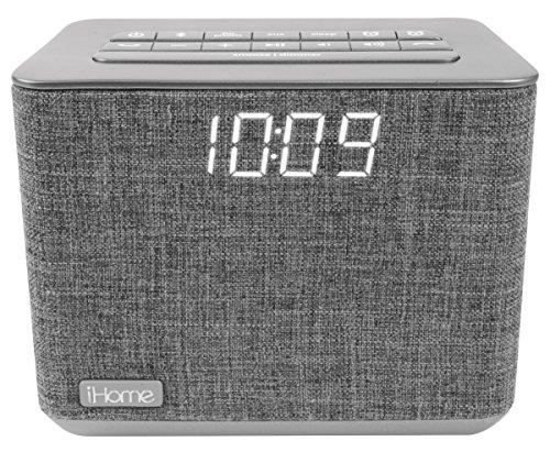 iHome iBT232 Dual Radio Wecker mit Bluetooth, Freisprecheinrichtung und zusätzlichem USB-Ausgang