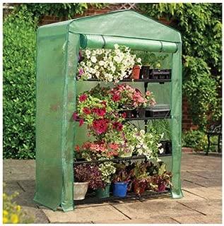 half brick greenhouse