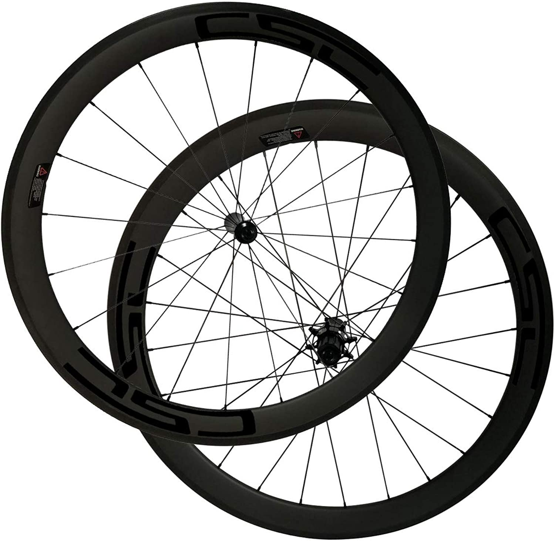 LOLTRA Road Bike Wheelset, Tubeless Clincher Tubular Carbon Wheels with with RL12 Hub Pillar 1423 Spoke