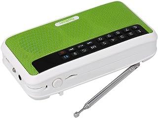 Docooler Rolton E500 Wireless Bluetooth Speaker 6W HiFi Stereo Music Player Portable Digital FM Radio w/Flashlight LED Display Mic Support Hands-free Record TF Music Play