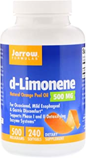 Jarrow Formulas, d-Limonene, 500 mg, 240 Softgels