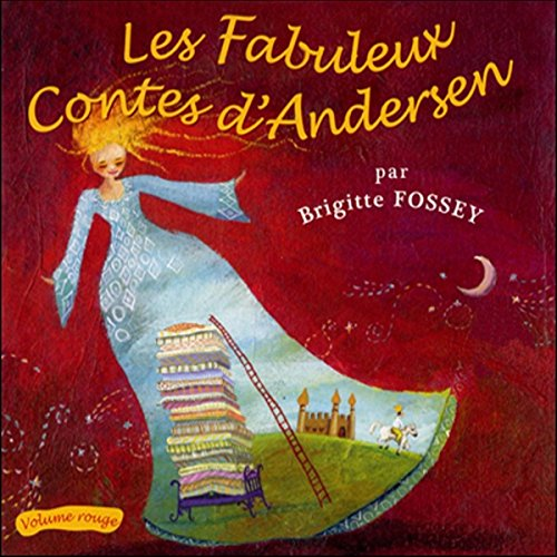 Couverture de Les Fabuleux Contes d'Andersen - Volume rouge