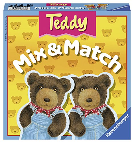 Why Should You Buy Ravensburger Teddy Mix & Match - Children's Game