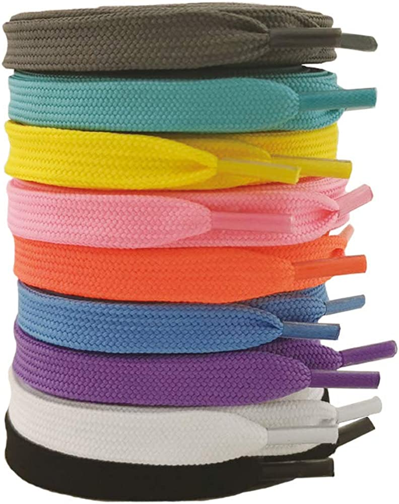 VASGO 9 Pairs Narrow Flat shoe for 100cm sneakers laces Brand Cheap Sale Venue Max 64% OFF 39inch