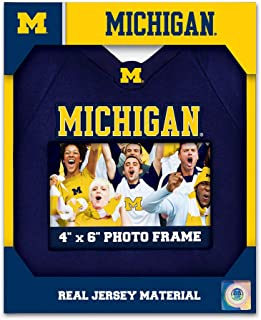 MasterPieces NCAA Michigan Wolverines, 4 x 6 Uniform Photo Picture Frame