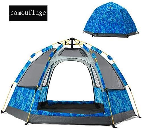 Joyfitness Tente de Camping Anti-Pluie pour extérieur, 3-4 Personnes