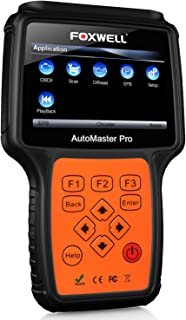 FOXWELL NT624 PRO Professional Automotive Obd2 Obdii Code Reader Car All-Systems Diagnostic Scan Tool with ABS/Oil Light Reset and EPB Service Functions CAN OBD II EOBD Scanners