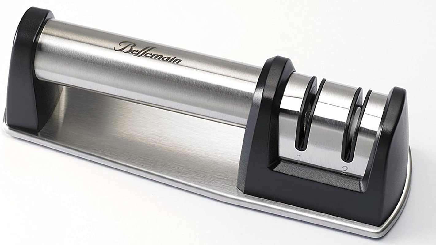 Bellemain 2 Stage 2 Direction Diamond Knife Sharpener For Professionals And Home Chefs