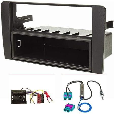 Tomzz Audio 2403 019 Radioblende Kompatibel Mit Audi A3 Elektronik