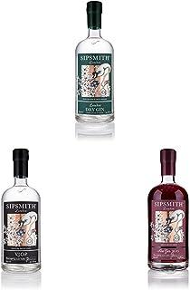 Sipsmith Probierpaket: Sipsmith Dry Gin  Sipsmith VJOP Batch No. 1  Sipsmith Sloe Gin 2 x 0.7 l, 1 x 0.5 l