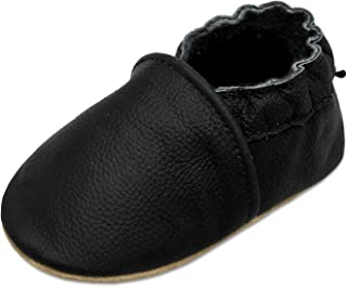 JOINFREE Baby Boys Walking Shoes Baby Girls Crawling Slippers Toddler Infant Soft Leather First Walking Shoes