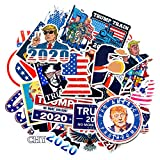 2020 Trump Stickers Themed Stickers Spoof Avatar Stickers ,Funny Waterproof Aesthetic Stickers for Water Bottle Computer Mobile Phone Luggage Cars Teens Adults
