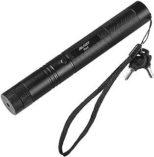 قلم مؤشر ليزر احمر 10 ميل 650 نانومتر 303 شعاع ضوء مرئي، بطارية وشاحن