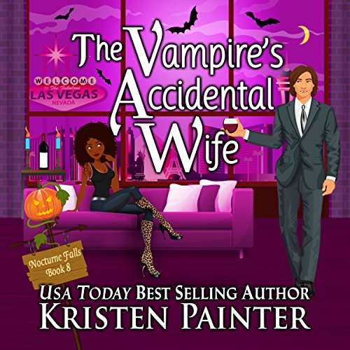 The Vampire's Accidental Wife audiobook cover art