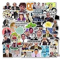 The Office Stickers 50枚パック デカール オフィス 面白い商品 ポスター ステッカー ノートパソコン コンピューター オフィスステッカー