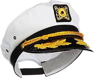Ifavor123 Sailor Captain Yacht Adjustable Snapback Cap Boat Halloween Hat
