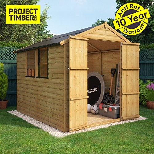 Project Timber - Cobertizo de madera...