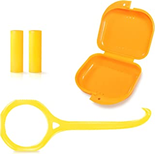 Aligner removal tool,Invisible chewer and Fixing Box,Accessories Set for Invisible Removable Braces and Oral Care, with [F...