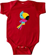 inktastic Colorful Parrot, Tropical Bird, Tropical Parrot Infant Creeper