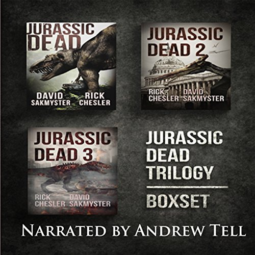 Jurassic Dead Box Set audiobook cover art