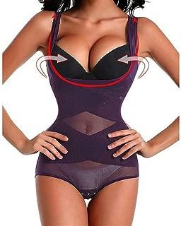 RZDJ Women Body Shaper Slimming Waist Belts Trainer Cincher Underbust Corset Shapewear Tummy Belt Plus Size L-3XL (Color : Purple, Size : XXXL)