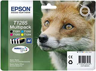 Epson C13T12854511 - Multipack 4-colours T128 EasyMail, Ya disponible en Amazon Dash Replenishment