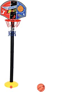 Timoo Mini Basketball Hoop for Kids Toddler Basketball Goal Set - Adjustable Height up to 35 Inches