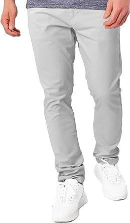 Indicode Caballeros Cherry Pantalones Chinos Hechos De Algodón Incl Cinturón   Largo Chino Pantalón con 5 Bolsillos Stretch Regular Fit Tela Recto ...