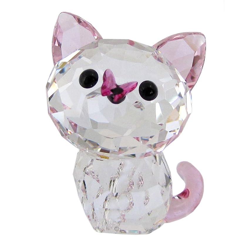 関数滑る家庭スワロフスキー SWAROVSKI クリスタル フィギュア アメリカンショートヘア ネコ 猫 Kitten Millie 5223597 【並行輸入品】 5223597