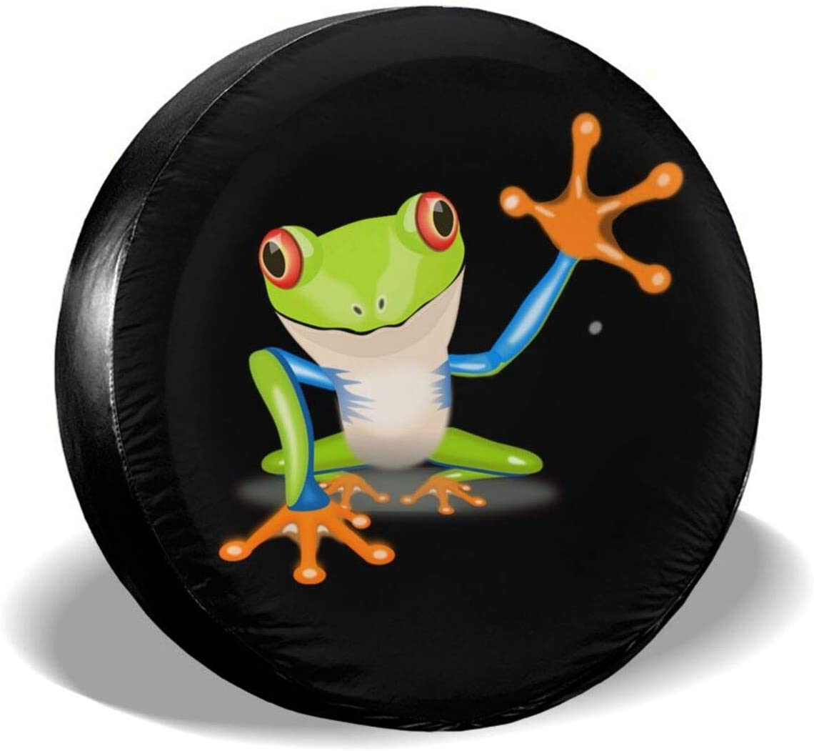 Frog Spare Tire Cover Waterproof Sun overseas Wheel UV Co Dust-Proof Challenge the lowest price of Japan ☆