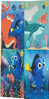 Back to School Finding Dory Folders - 4 Pack - Binder Ready- Colorful Durable Organizer - Great To Store Files for Homework Classwork Presentations - Great School Supplies For Kids Teenage Students