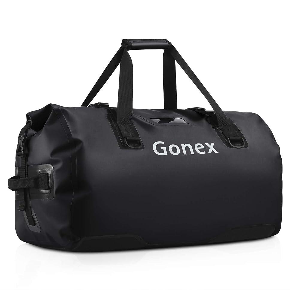商品家主預言者Gonex 60L ボストンバッグ 完全防水 大容量 多機能 アウトドア ダッフルバッグ トラベルバッグ カヤック ラフティング キャンプ 釣り