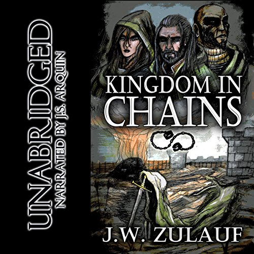 Kingdom in Chains audiobook cover art