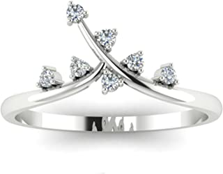 Astrum Diamonds 18KT Gold and Diamond Ring for Women