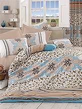 Pearl Home Ranforce Single Quilt Cover Set-160 x 220 cm-Duvet Cover Flat Sheet Pillow Case
