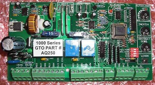 GTO PRO1000 Control Board AQ250, GTO PRO 1000 Circuit Board AQ250