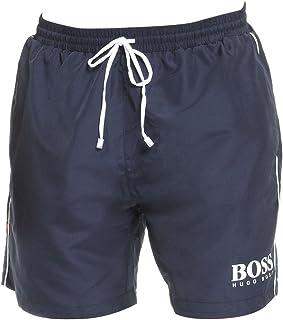 Hugo Boss Men's Medium Length Quick Dry Swim Trunks