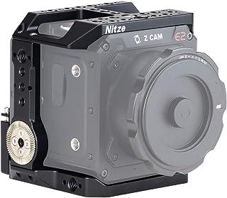 Nitze Jaula para cámara Z CAM E2-S6/F6/F8 con riel NATO Incorporado y Roseta ARRI a la Izquierda y Derecha – TP-E2-FS