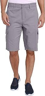 CAMEL CROWN Herren Cargo Shorts Sweatshorts Kurze Hose Reißverschluss 100% Baumwolle Sommer Shorts für Männer Lässige Hosen mit Taschen Freizeithose Regular Fit