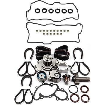 LUJUNTEC Timing Belt Kits for 1996-2002 Toyota 4Runner 1995-1998 Toyota T100 1995-2004 Toyota Tacoma 2000-2004 Toyota Tundra