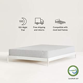 Nod Hybrid by Tuft & Needle Queen Mattress, Amazon-Exclusive Soft Memory Foam and Firm Innerspring Bed in a Box with Support and Cooling Gel, 100-Night Sleep Trial, 10-Year Limited Warranty