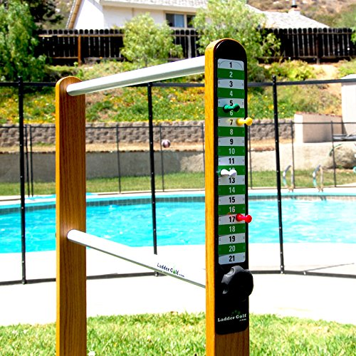 (Green/White) - Ladder Golf Add-On Magnetic Game Scoreboard with Magnets